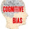 Cognitive bias word cloud shape